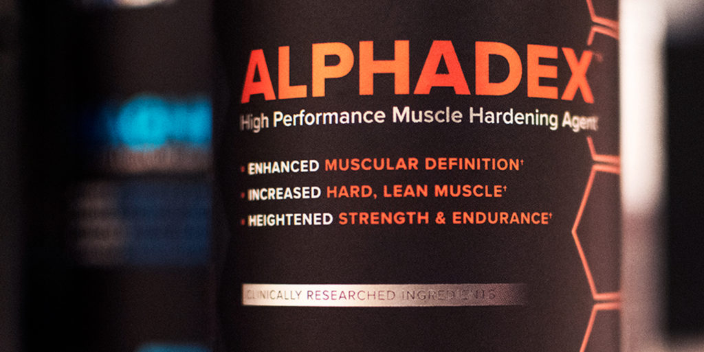 bottle of Alphadex