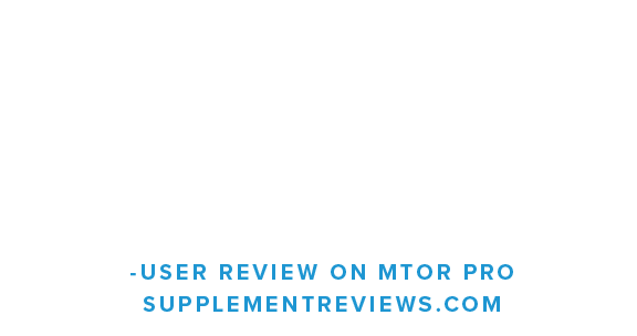 I was hoping to see two things with this product, improved muscle recovery and improved hydration. mTor Pro hit the mark on both fronts...