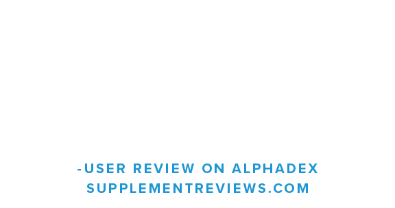 I do believe I hit a few deadlift PRs while using Alphadex, which was more than welcomed...