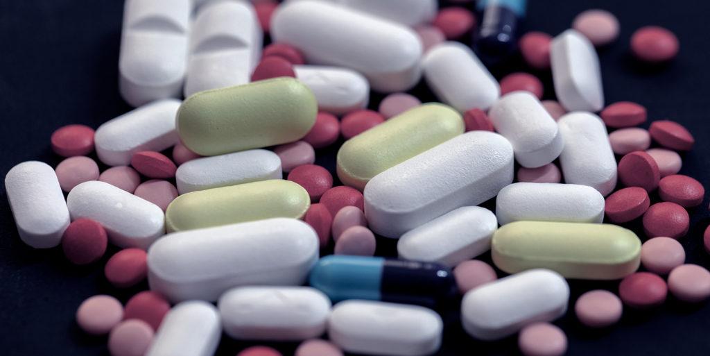 Pile of random pills