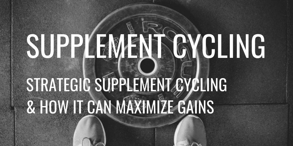 Strategic Supplement Cycling Header