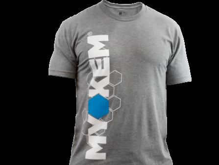 Gray Myokem t-shirt, performance fit
